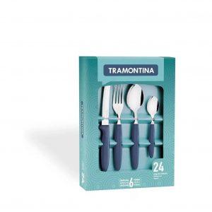 Juego De Cubiertos Tramontina Ipanema 24 Piezas Cocina
