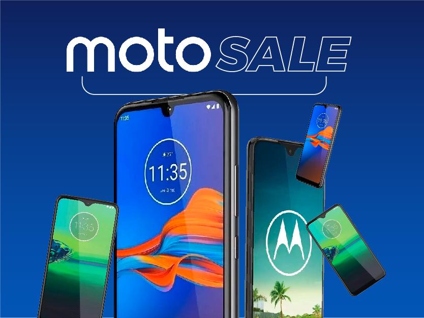 Banner Moto Sale