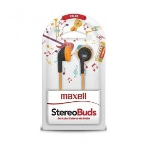 Auricular Maxell Eb-95 Stereo Buds Colores