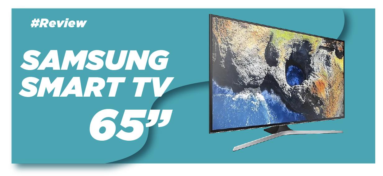 "Televisor Samsung LC 65"""