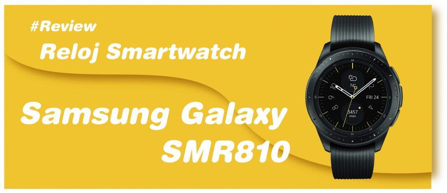 Reloj Smartwatch Samsung Galaxy SMR810
