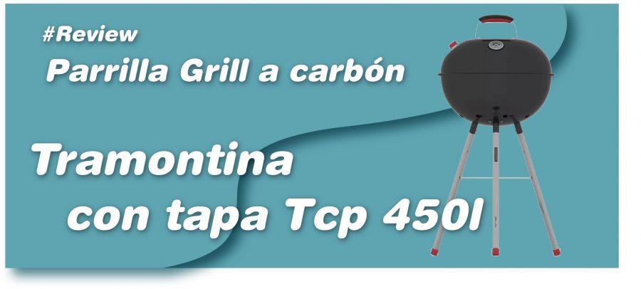 Parrilla grill a carbon