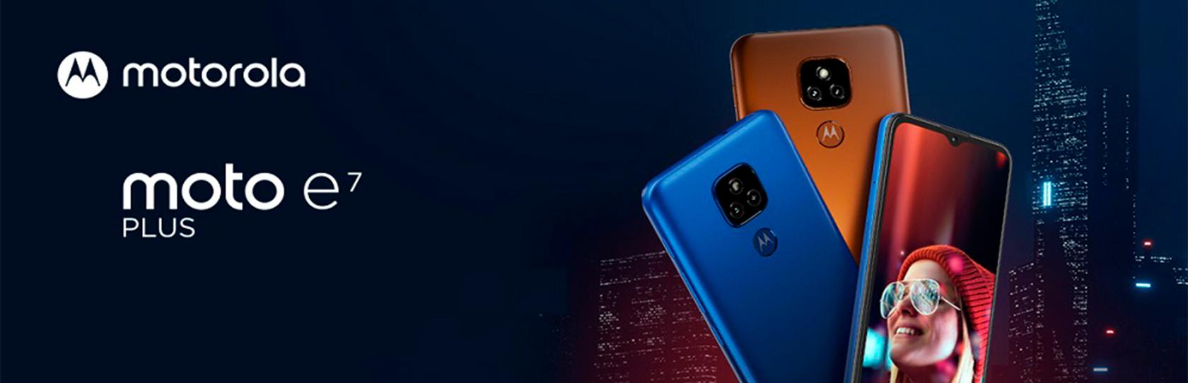 Celular Motorola E7 Plus 64GB