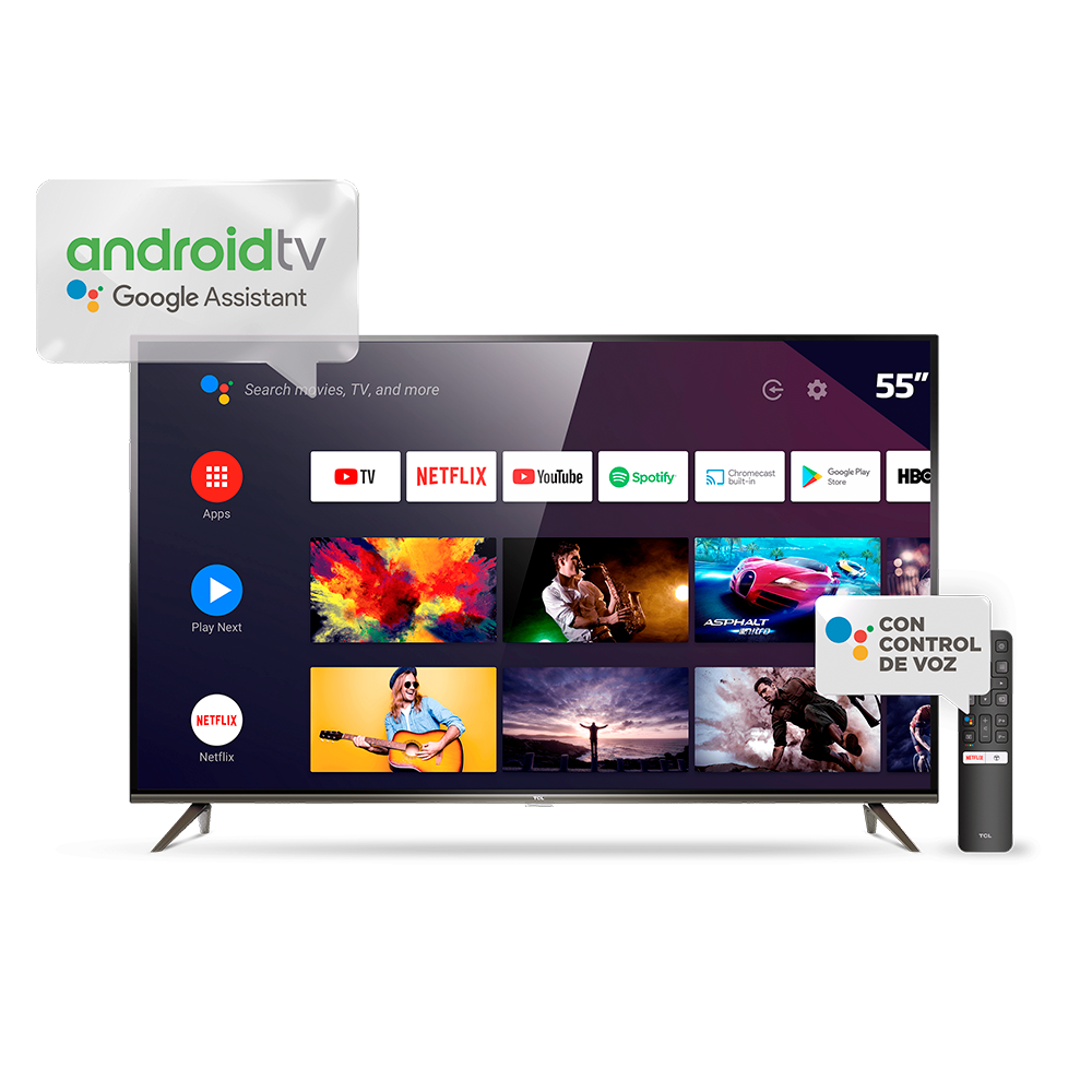 Smart Tv Led Android Tcl 4k Ultra Hd L55p8m