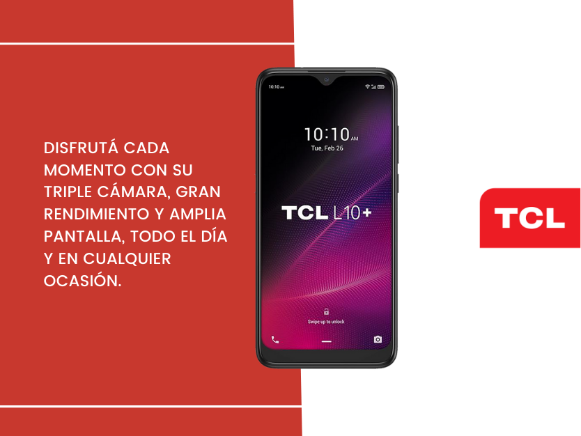 Celular TCL L10+ 32GB