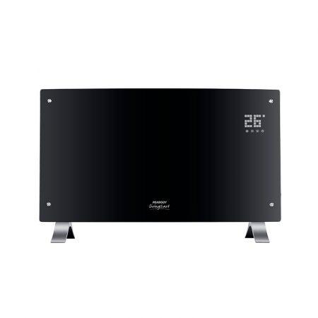 Vitroconvector eléctrico digital negro Peabody PE-VQD20