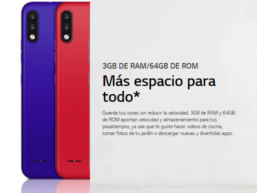 Celular LG K22+ 64GB