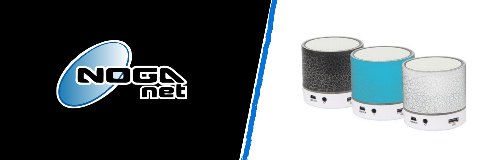 Parlante Bluetooth Led NOGA NGS-310