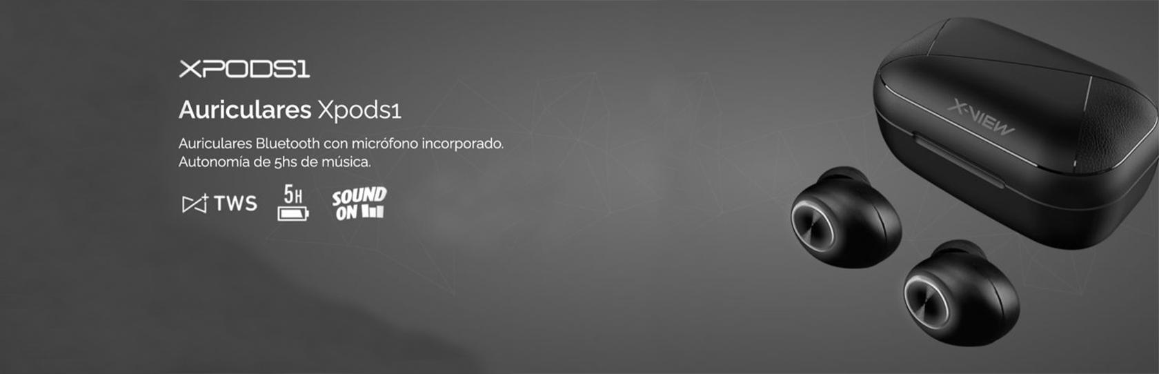 Auriculares Inalámbricos Bluetooth X-view Xpods1