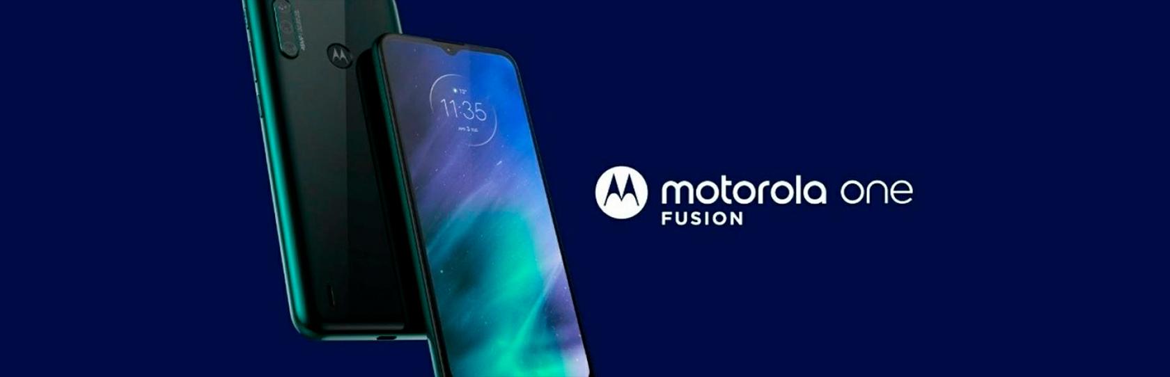 Celular Motorola One Fusion 128GB