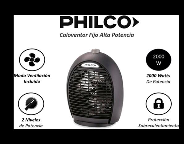 Caloventor Fijo Philco PHCF20T2N