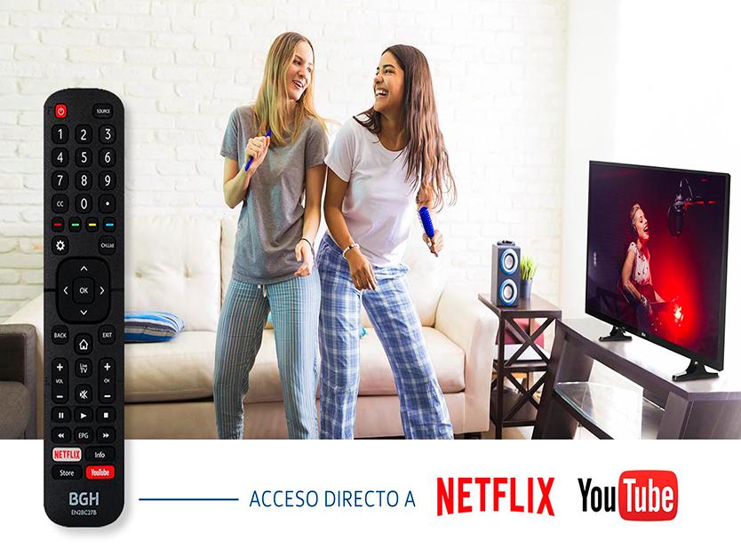 Smart Tv BGH 43″ LED Full HD B4319FK5