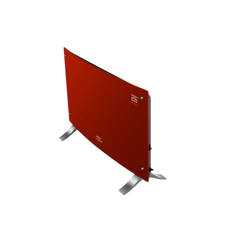 Vitroconvector digital rojo curvo Peabody Led PE-VQDL20