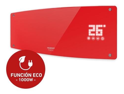 Calefactor Split Peabody Pe-cv20 Digital Touch Rojo
