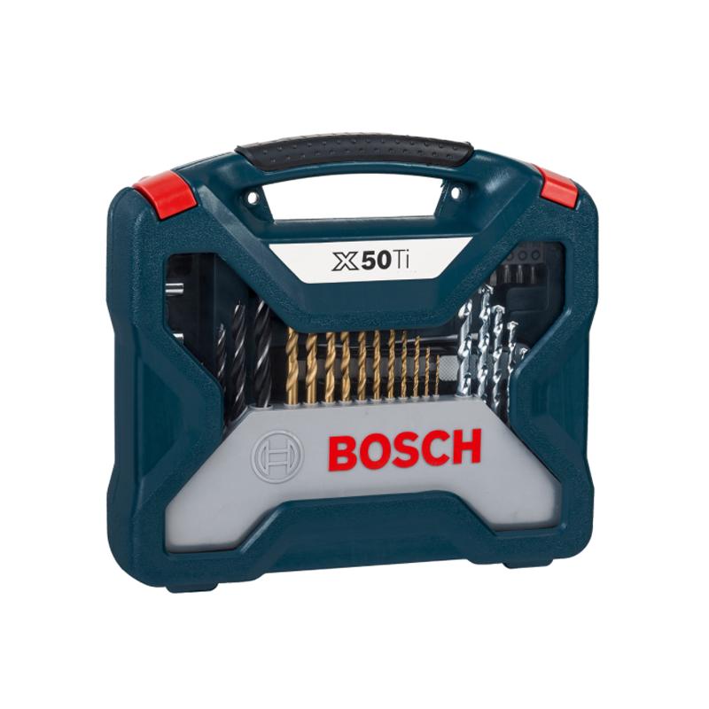 Maletín de mechas y puntas Bosch X-Line 50 unidades