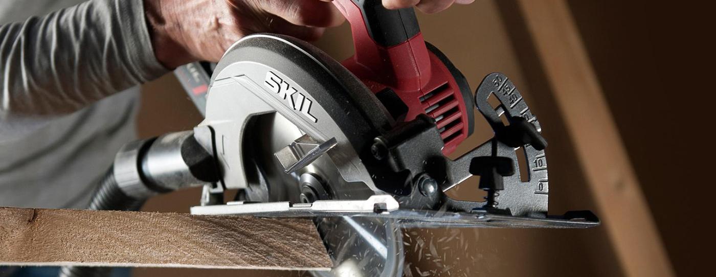 Sierra circular eléctrica Skil 5402 1400W