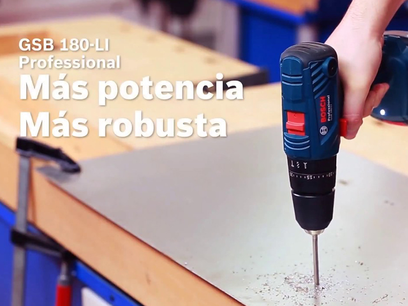 Taladro Atornillador Bosch GSB 180-LI 18V