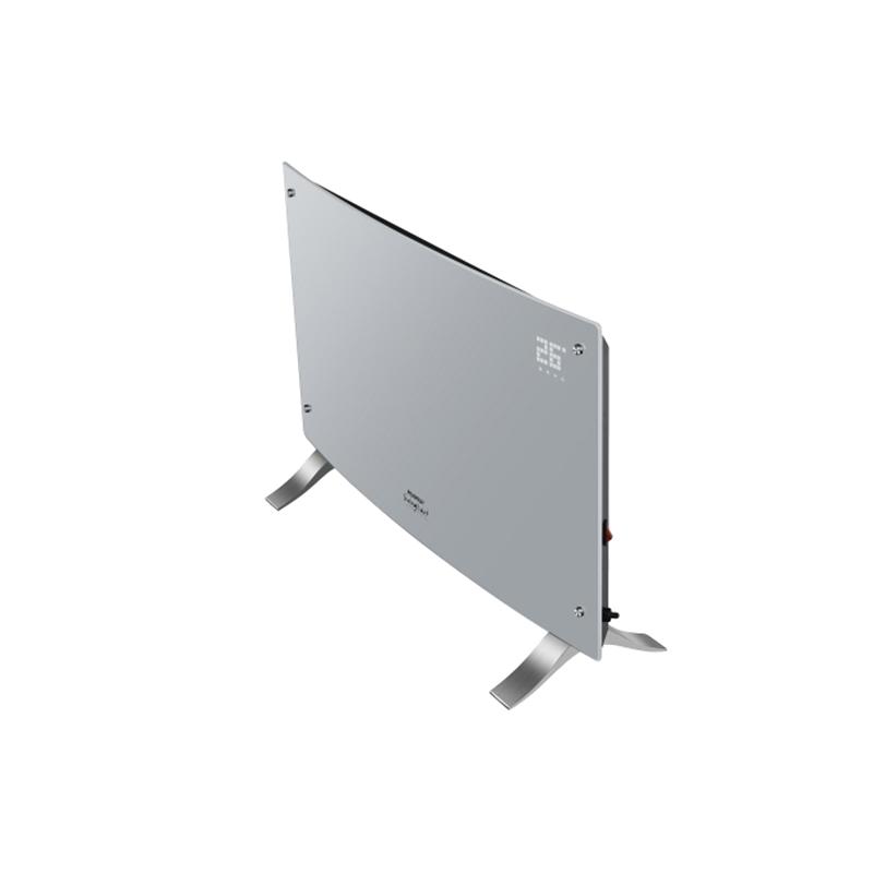 Vitroconvector digital blanco curvo Peabody Led PE-VQDL20