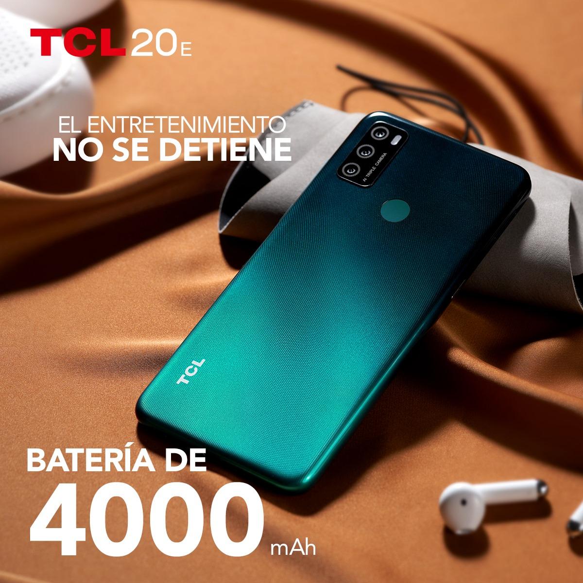 Celular TCL 20E 128GB