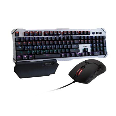 Combo Teclado Mecánico + Mouse Óptico Gamer Level Up